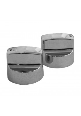 Alva - Universal BBQ Knob Set (Chrome)