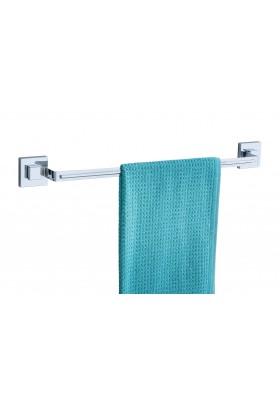 WENKO - Vacuum-Loc Towel Rail Uno Quadro Range - S/Steel - No Drilling