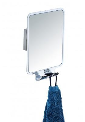 WENKO - Vacuum-Loc Anti-Fog Shower Mirror Quadro Range - No Drilling