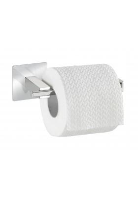 WENKO - Turbo-Loc Toilet Paper Holder Quadro Range - S/Steel - No Drilling
