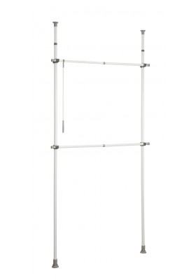WENKO - Herkules Basic Telescopic Clothes Rack System