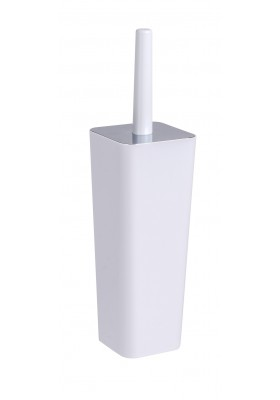 WENKO - Toilet Brush - Candy Range - White - Closed Form