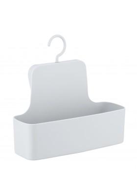 WENKO - Shower Caddy - Barcelona Range - White - Unbreakable