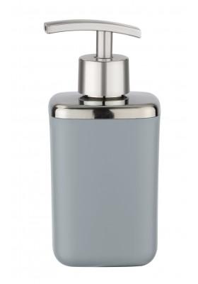 WENKO - Soap Dispenser - Barcelona Range - Grey - Unbreakable - 370ml