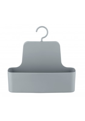 WENKO - Shower Caddy - Barcelona Range - Grey - Unbreakable