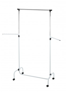WENKO - Clothes Rack with 2 Swivel Arms (Trio Model)