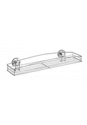 WENKO - Vacuum-Loc Wall Shelf Maxi Milazzo - No Drilling Required