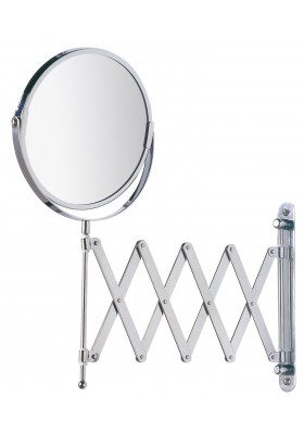Wenko - Cosmetic Wall Mirror With Telescopic Arm - Exclusive Model