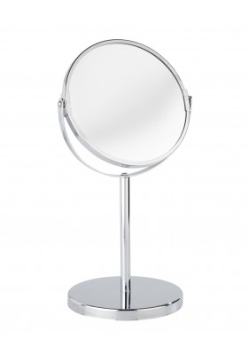 Wenko - Standing Double Sided Cosmetic Mirror - 3X Mag - Assisi Model