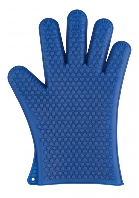 Wenko - Oven Glove Silicone 1Pc - Blue