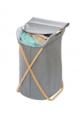Wenko - Laundry Bin 79L - Bahari Range - Bamboo Grey