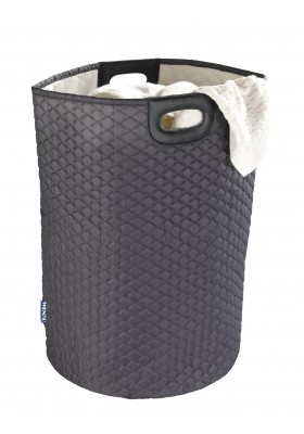 Wenko - Wabo - Laundry Bin - Black 79L