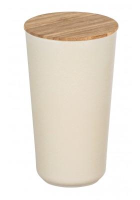 Wenko - Bondy Airtight Storage Jar - Bamboo Lid - 950Ml