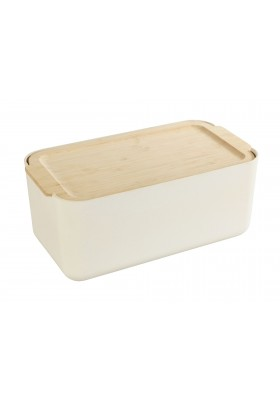 DERRY BREAD BOX - BAMBOO LID & INTEGRATED CUTTING BOARD