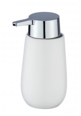 SOAP DISPENSER - BADI RANGE - CERAMIC - WHITE