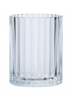 TOOTHBRUSH TUMBLER - VETRO RANGE - GLASS - TRANSPARENT