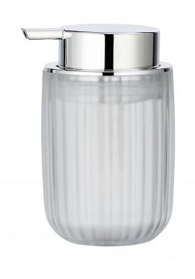 SOAP DISPENSER - AGROPOLI RANGE - WHITE  - FROSTED PLASTIC