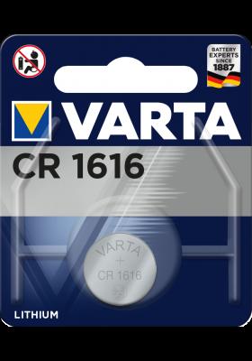 CR1616 VARTA LITHIUM 1 PACK
