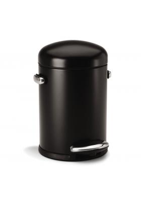 SimpleHuman - 4.5 Litre Retro - Black