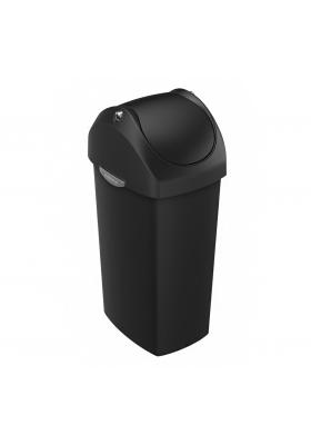 SimpleHuman - 60 Litre Swing Bin Plastic - Black