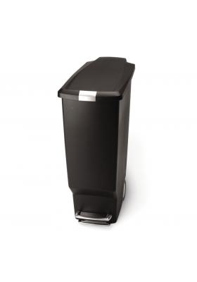 SimpleHuman - 40 Litre Slim Plastic - Black