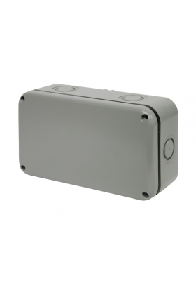 IP55 RECTANGULAR OUTDOOR JUNCTION BOX