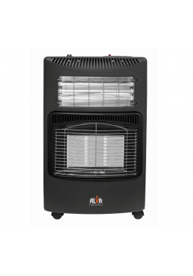 INFRARED RADIANT GAS & ELECTRIC DUAL INDOOR HEATER