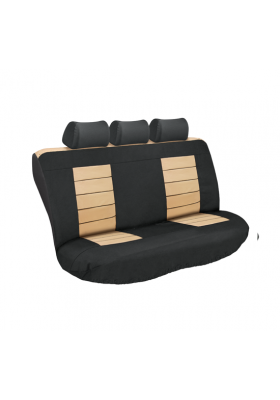 ULTIMATE HD REAR SEAT COVERS (BEIGE)