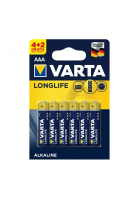 LONGLIFE BATTERIES AAA 6 PACK