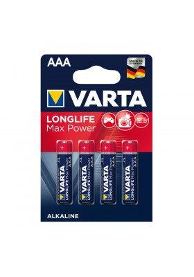 LONGLIFE MAX POWER BATTERIES AAA 4 PACK (Max-Tech)