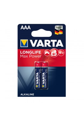 LONGLIFE MAX POWER BATTERIES AAA 2 PACK (Max-Tech)