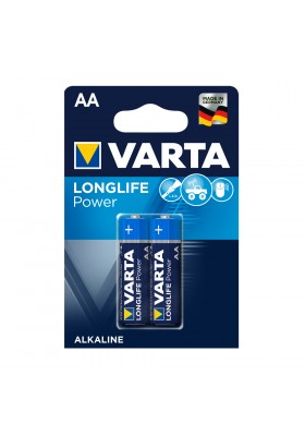 LONGLIFE POWER BATTERIES AA 2 PACK (Hi-Energy)