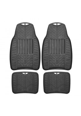 MICHELIN ALL WEATHER 4PC CAR MAT SET 965BK