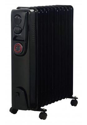 11 FINS 2500W OIL FILLED HEATER - TIMER FUNCTION