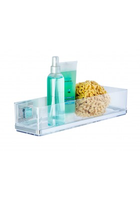WENKO -  Vacuum-Loc Wall Shelf Maxi Quadro Range - No Drilling Required