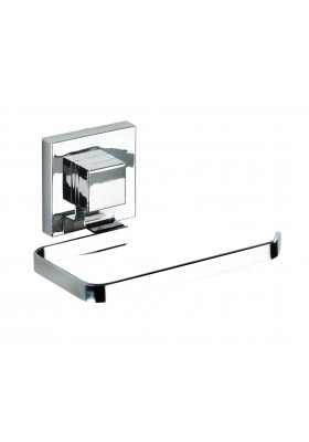 WENKO - Vacuum-Loc Toilet Paper Holder Quadro Range - S/Steel - No Drilling