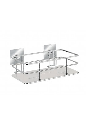 WENKO - Turbo-Loc Wall Shelf Quadro Range - S/Steel - No Drilling Required