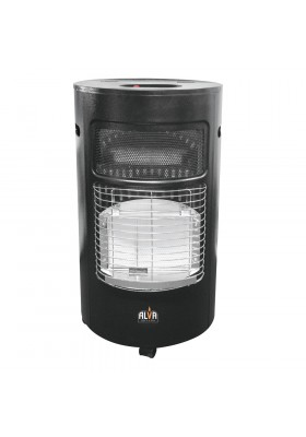CIRCULAR ROLL ABOUT GAS HEATER - BLACK