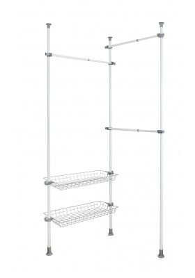 WENKO - Herkules Duo Telescopic Clothes Rack System
