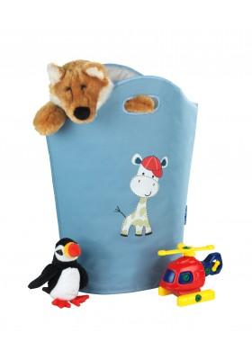 WENKO - Kids 24L Laundry Basket - Gerry - Blue