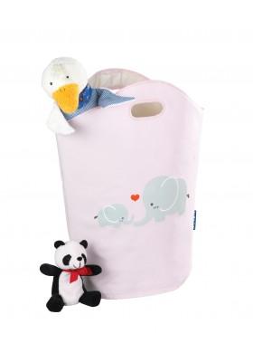 WENKO - Kids 24L Laundry Basket - Elli - Rose
