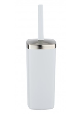 TOILET BRUSH - BARCELONA RANGE - WHITE - UNBREAKABLE