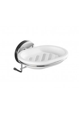 WENKO - Vacuum-Loc Soap Dish Milazzo - No Drilling Required