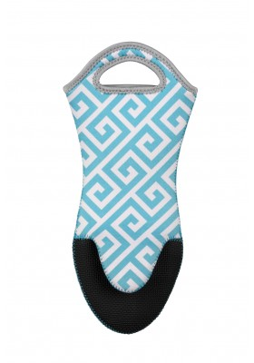 Wenko - Oven Gloves Neoprene - Light Blue Edge Range - 2 Piece