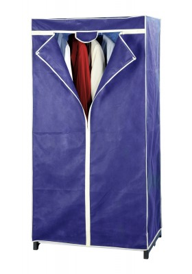 Wenko - Foldable Wardrobe - 50X75X150 - Air Range - Blue