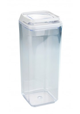 TURIN VACUUM AIRTIGHT STORAGE CONTAINER - CLEAR - 1.7L