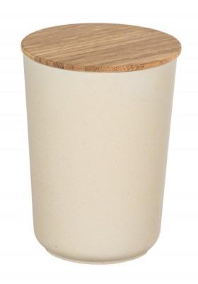 Wenko - Bondy Airtight Storage Jar - Bamboo Lid - 700Ml