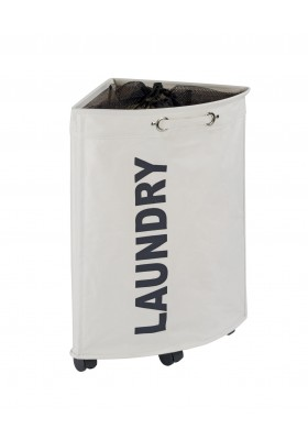 WENKO - Laundry Basket Tresco Beige 50L