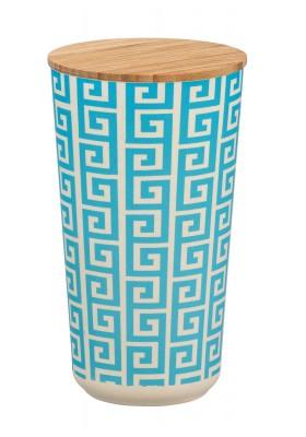 Wenko - Edge Airtight Storage Jar - Bamboo Lid - 950ml