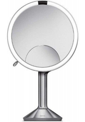 SIMPLE HUMAN-20Cm Sensor Mirror Trio-Touch Control Brightness -Brushed S/S